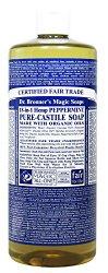 Dr. Bronner's Fair Trade & Organic Castile Liquid Soap