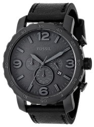 Fossil Men's JR1354 Nate Stainless Steel Chronograph Watch