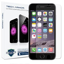 iPhone 6 Plus (5.5 inch ONLY) HD Clear Ballistic Glass Screen Protector