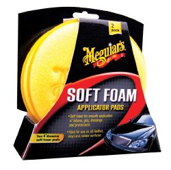 Meguiar's X3070 Soft Foam 4″ Applicator Pads