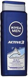 NIVEA Men Active3 3-in-1 Body Wash