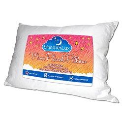 Premium Soft Microfiber Filling Toddler Pillow