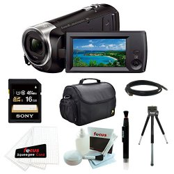 Sony HDR-CX440/B Full HD 60pVideo Recording Handycam Camcorder