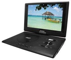 Sylvania SDVD1332 13.3-Inch Swivel Screen Portable DVD Player