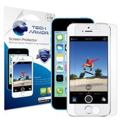 Tech Armor Apple iPhone 5 High Defintion Clear Screen Protector