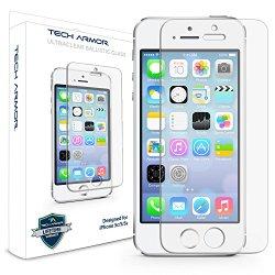 Tech Armor Apple iPhone 5/5c/5s Premium Ballistic Glass Screen Protector
