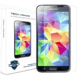 Tech Armor Samsung Galaxy S5 Premium Ballistic Glass Screen Protector