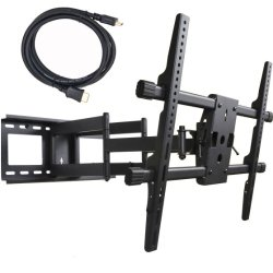 VideoSecu Articulating Full Motion TV Wall Mount for 32″-65″ LED