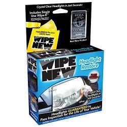 Wipe New HDL6PCMTRRT Headlight Restore Kit