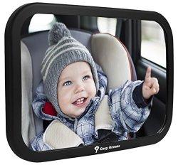 Cozy Greens Back Seat Mirror