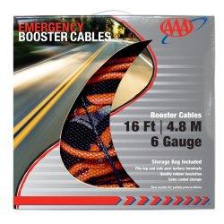 AAA 4326AAA Heavy Duty 16′ 6 Gauge Booster Cable