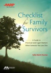 ABA/AARP Checklist for Family Survivors