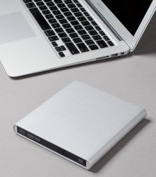 Aluminum External USB Blu-Ray Writer Super Drive for Apple–MacBook Air, Pro, iMac