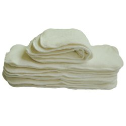 Alva Baby Cloth Diaper 4 layers Antibacterial Bamboo 12pcs 12mb