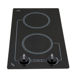 B41601 Kenyon Caribbean 2 Burner Electric Cooktop , black w/analog control (two 6 1/2 inch) 120V