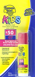 Banana Boat Kids Sunblock Stick SPF 50 (Pack of 4)