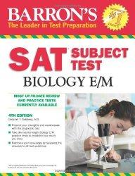 Barron's SAT Subject Test Biology E/M, 4th Edition