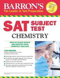 Barron's SAT Subject Test Chemistry, 12th Edition