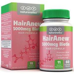Biotin Hair Growth Vitamins – 11 Powerful Ingredients Including 5000mcg Biotin