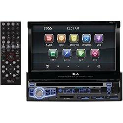 BOSS Audio BV9976B In-Dash Single-Din 7-inch Motorized Touchscreen