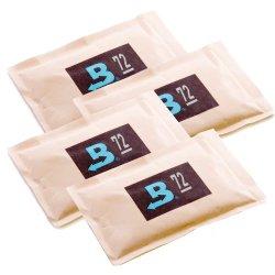Boveda 72% RH 2-Way Humidity Control, Large 60 gram, 4-Pack