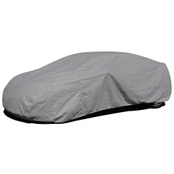 Budge Lite Car Cover Fits Sedans up to 157 inches, B-1  Polypropylene Gray