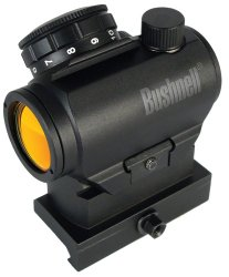 Bushnell AR Optics TRS-25 HiRise Red Dot Riflescope with Riser Block, 1x25mm