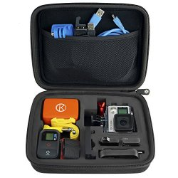 CamKix Medium Case for GoPro Hero 4, 3+, 3, 2, 1 and Accessories