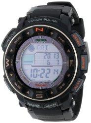 Casio Men's PRW-2500R-1CR Pro-Trek Tough Solar Digital Sport Watch