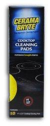 Cerama Bryte Ceramic Cooktop Cleaning Pads, 10-Pack