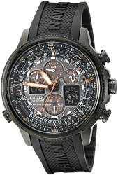 "Citizen Men's JY8035-04E ""Navihawk"" Stainless Steel Eco-Drive Watch"