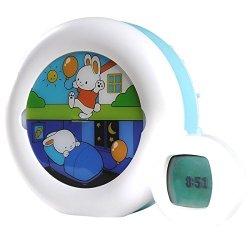 Claessens' Kids Kid'Sleep Moon Nightlight, White/Blue