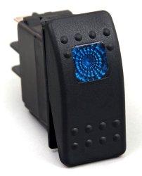 Daystar KU80011 20 Amp Blue Light Rocker Switch Kit