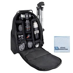 Deluxe Digital Camera / Video Padded Backpack For Nikon, Canon, Sony, Pentax DSLR Cameras