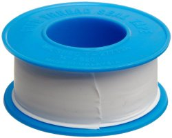Dixon Valve TTB75 PTFE Industrial Sealant Tape, -212 to 500 Degree F Temperature Range, 3.5mil Thick, 520″ Length, 3/4″ Width, White