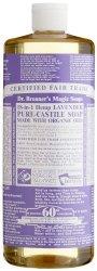 Dr. Bronner's Fair Trade & Organic Castile Liquid Soap – (Lavender, 32 oz)