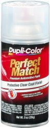 Dupli-Color (BCL0125-6 PK) Clear Exact-Match Automotive Top Coat – 8 oz. Aerosol