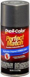 Dupli-Color BHA0928 Graphite Grey Metallic Honda Exact-Match Automotive Paint – 8 oz. Aerosol