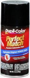 Dupli-Color BHA0941 Black Metallic Honda Exact-Match Automotive Paint – 8 oz. Aerosol