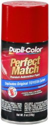 Dupli-Color BTY1618 Barcelona Red Metallic Toyota Exact-Match Automotive Paint – 8 oz. Aerosol