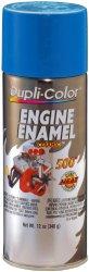 Dupli-Color DE1608 Ceramic General Motors Blue Engine Paint – 12 oz.