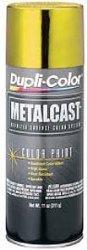 Dupli-Color MC202 Yellow Metal Cast Anodized Color – 11 oz.