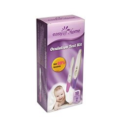 Easy@Home 10 Ovulation (LH) Tests Plus 2 early Pregnancy (HCG) tests – Midstream Test sticks