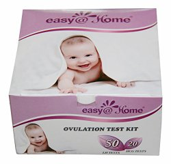 Easy@Home 50 Ovulation Test Strips and 20 Pregnancy Test Strips Kit