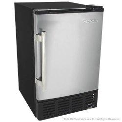 EdgeStar 12 Lbs. Built-In Ice Maker – Stainless Steel Door