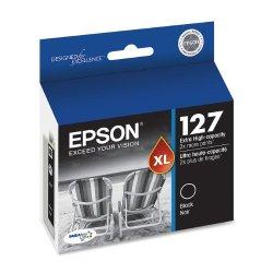 Epson DURABrite T127120 Ultra 127 Extra High-capacity Inkjet Cartridge-Black