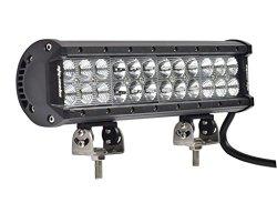 Eyourlife Dual Row SMD Combo Led Light Bar 12″ 72W