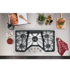GE CGP650SETSS Cafe 36″ Stainless Steel Gas Sealed Burner Cooktop