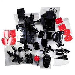 Go Pro Accessory Kit Ultimate Combo Kit 33 accessories for GoPro HERO3+,GoPro HERO3,GoPro HERO2 and GoPro HERO Cameras