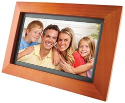 GPX PF903CW 9-Inch Digital Photo Frame (Walnut)